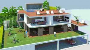 Proyecto casa 3D de Barcelona Interior Studio - Rehabilitacion de viviendas