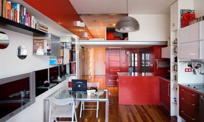 Barcelona Interior Studio espacios funcionales - decoracion dormitorios